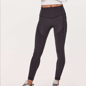 """Lululemon all the right places leggings 28"""""""